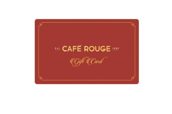 Free £20 Café Rouge Gift Card - 100s available!