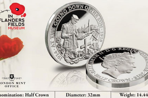 Free WW1 100th Anniversary Coin