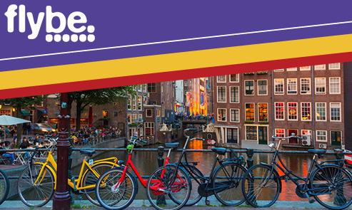 Win a Trip to Amsterdam with Flybe