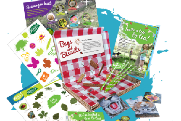 Free Woodland Tree Party Pack