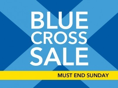 debenhams blue cross