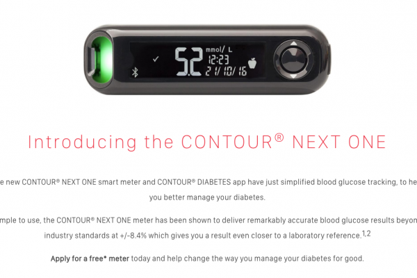 Free Diabetes CONTOUR® NEXT ONE Meter Giveaway