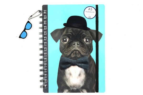 Free Pug Notebook