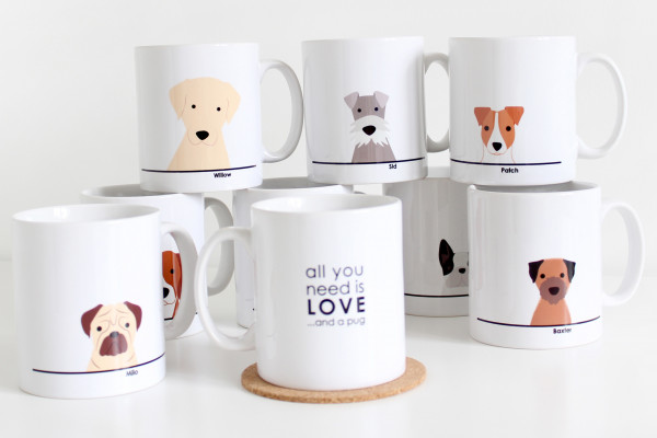Free Limited Edition Pet Mug